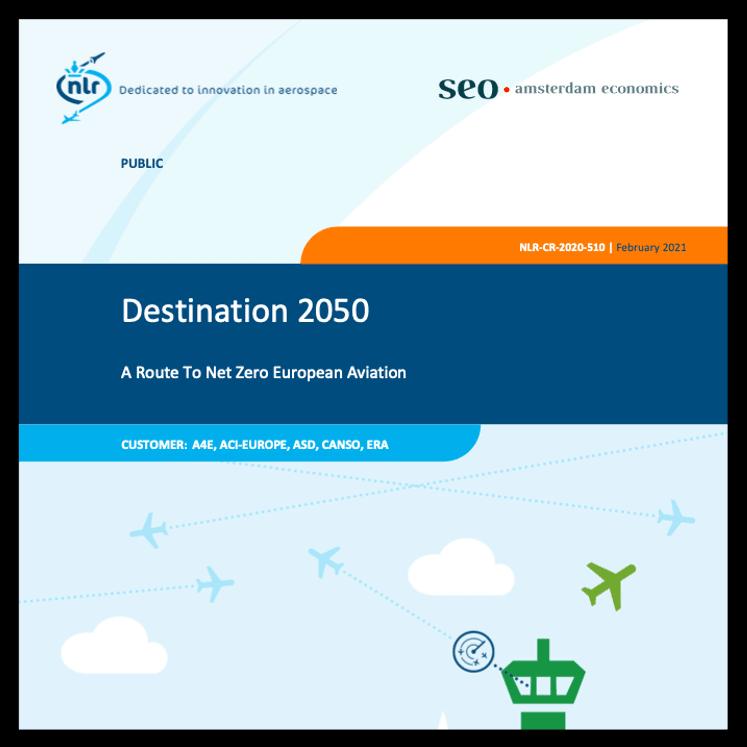 Destination 2050: A route to net zero European aviation