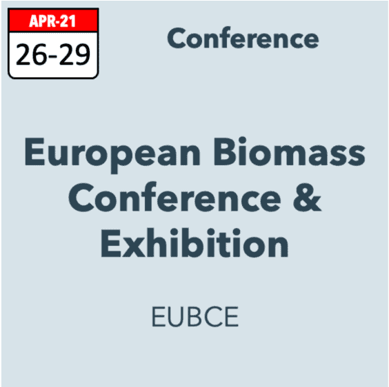 29th European Biomass Conference & Exhibition (EUBCE)