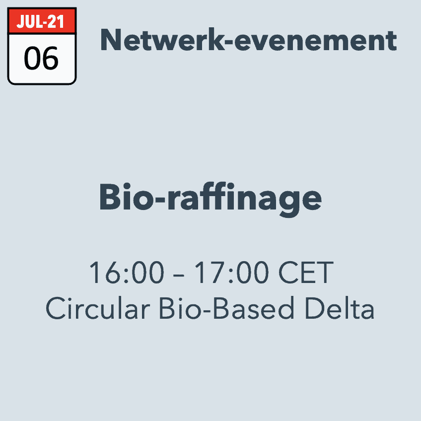 Netwerkbijeenkomst: Bioraffinage